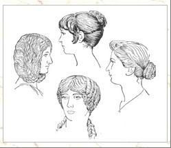 Eurydice Les Coiffures Romaines