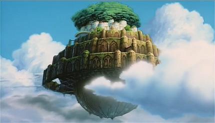 Ile Volante la vie sauvage - une île volante