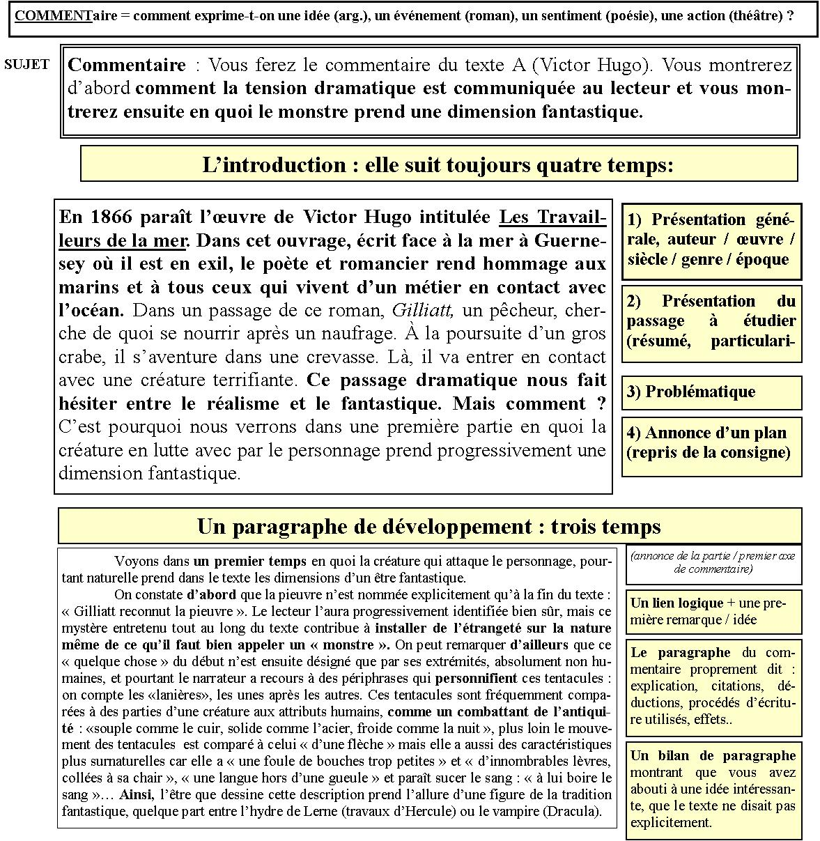 article commentaire