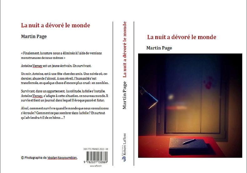 Couverture De La Nuit A Devore Le Monde M PAGE