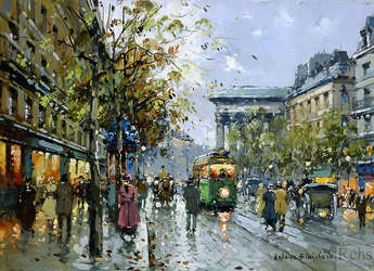 poème tableau parisien baudelaire