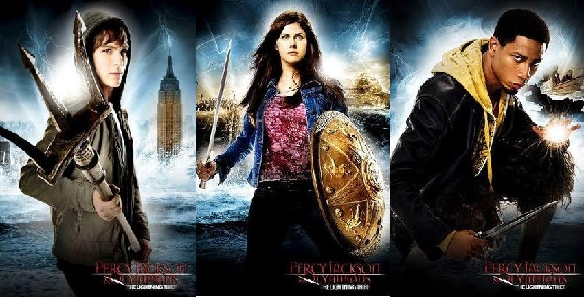 Percy Jackson  l   int  233 grale Percy Jackson Grover And Annabeth
