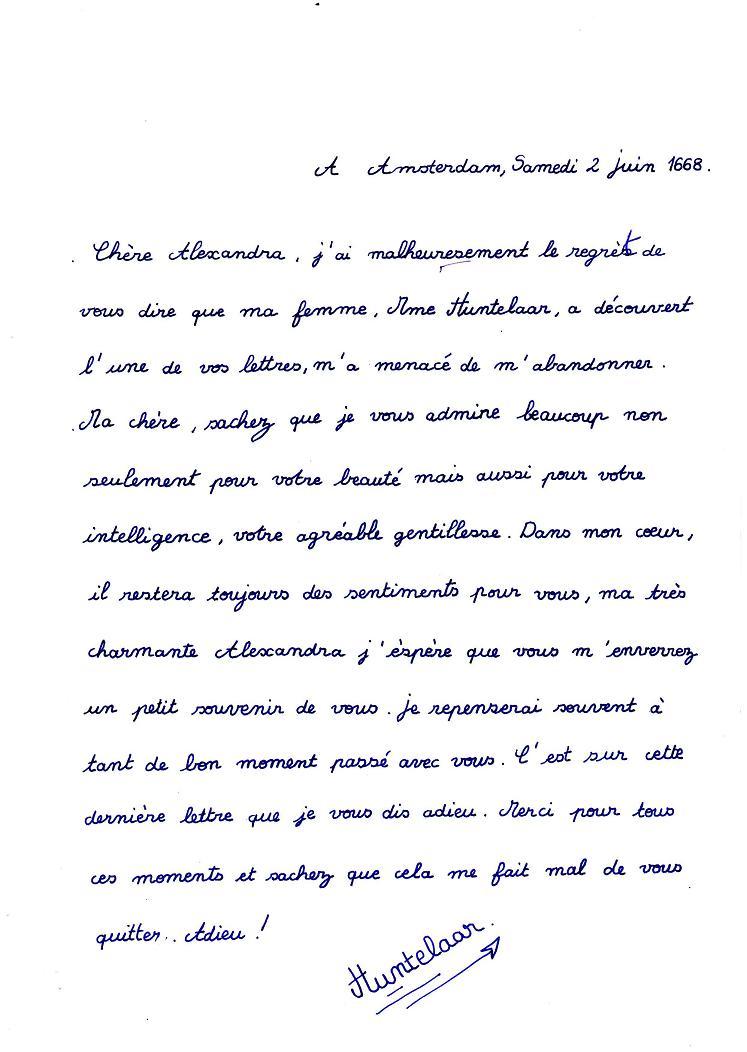 Comment ecrire une lettre d amour a un homme   Modèle de lettre